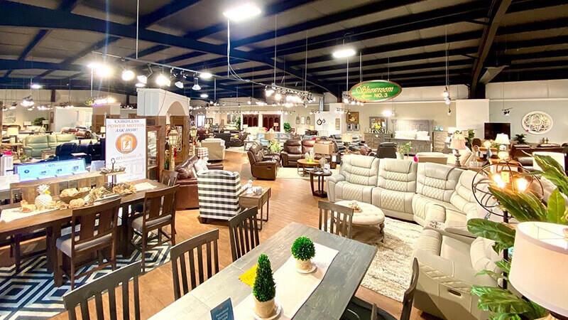 Furniture Warehouse Showroom